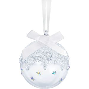 Swarovski Crystal Christmas Ball Ornament, Small