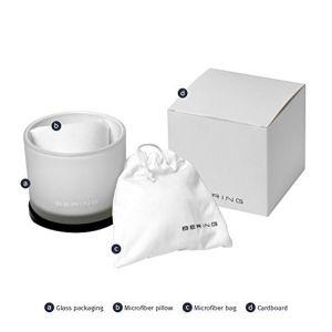 Bering Ladies White Ceramic and Rose Gold Tone Watch 10725-766
