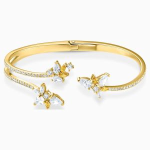 Swarovski Botanical Cuff - Gold-tone Plating - 5535782
