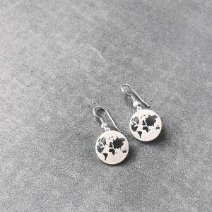byBiehl Beautiful World Silver Earrings 4-1601-R
