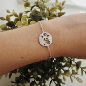 byBiehl Beautiful World Silver Bracelet 2-1601-R