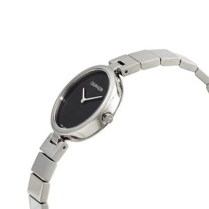 Calvin Klein Authentic Ladies Watch - Silver and Black