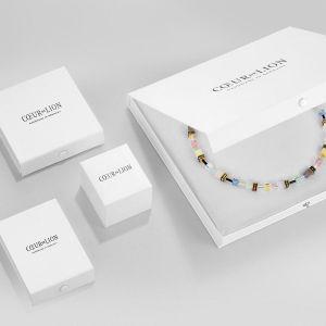 Coeur De Lion Stainless Steel Bangle - Multicolour Crystal 0129331517