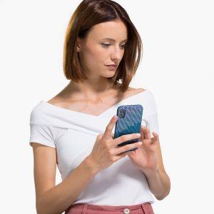 Swarovski Anniversary High Smartphone Case - iPhone XS Max Blue 5533972