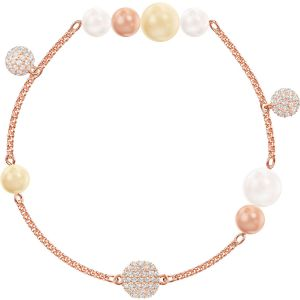 Swarovski Remix Collection Pearl Strand, Multi-Coloured, Rose Gold Plating