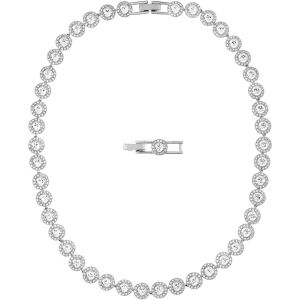 Swarovski Angelic All Around Necklace, White, Rhodium Plating 5117703