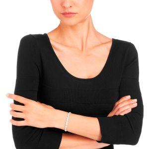 Swarovski Angelic Bracelet, White, Rhodium Plating 5071173