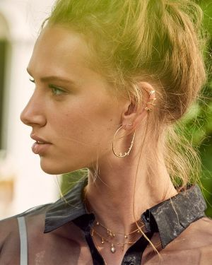 Ania Haie Glow Ear Cuff - Gold