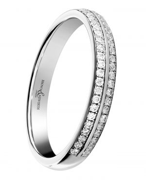 Brown & Newirth 'Spirit' Half Eternity Ring