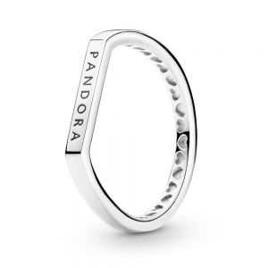 Pandora Logo Bar Stacking Ring 199048C00