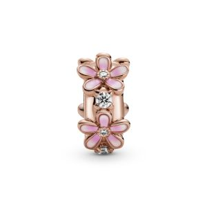 Pandora Pink Daisy Spacer Clip Charm - 788809C01