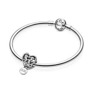 Pandora Openwork Seahorses Heart Charm 798949C00