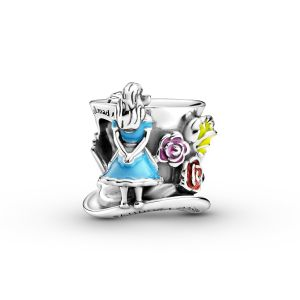 Pandora Disney Alice in Wonderland and The Mad Hatter's Tea Party Charm - 799348C01