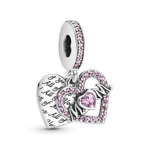Pandora Heart and Mum Dangle Charm - 799402C01