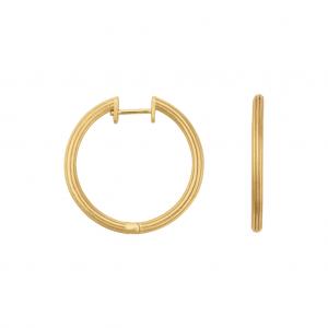byBiehl Isla Large Gold Hoops 4-020-GP