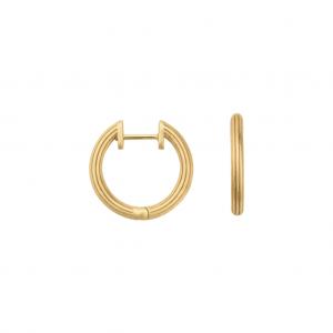 byBiehl Isla Small Gold Hoops 4-019-GP