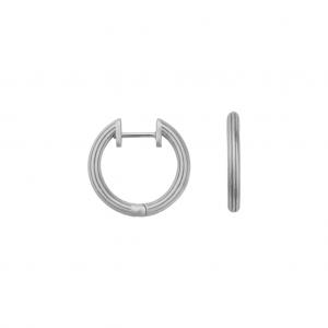 byBiehl Isla Small Silver Hoops 4-019-R