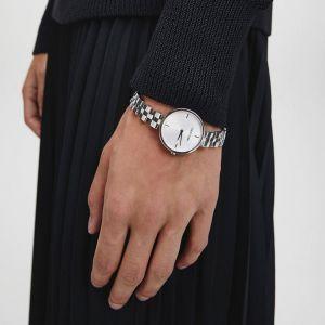 Calvin Klein Ladies Elegant Watch - Silver Tone