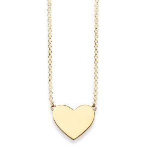 Thomas Sabo Necklace, Gold Heart KE1395-413-12