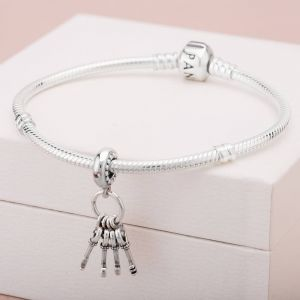 Pandora Keys of Love Dangle Charm - 797654NPMMX