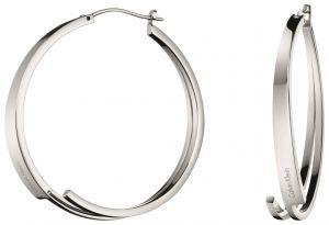 Calvin Klein Beyond Stainless Steel Hoop Earrings KJ3UME000100