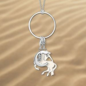 Thomas Sabo Silver Charm Circle Necklace X0252-001-21