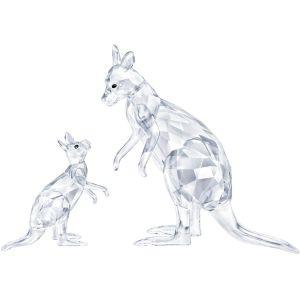 Swarovski Crystal Kangaroo Mother with Baby 5428563