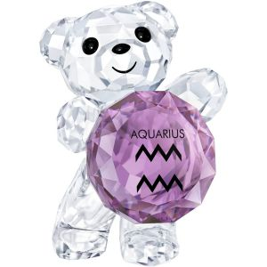 Swarovski Crystal Kris Bear - Aquarius