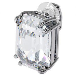 Swarovski Mesmera Single Earring Trilliant Cut - White with Rhodium Plating-5600758