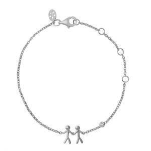 byBiehl Together My Love Silver Bracelet 2-2002A-R