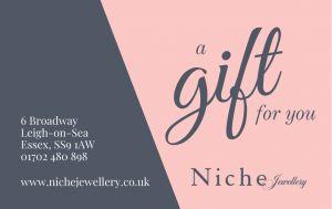Niche Jewellery In Store Gift Voucher £50