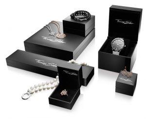 Thomas Sabo Gold Plated Heart and Diamond Ring