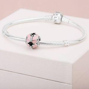 Pandora Pink Butterfly Charm - 797855EN160