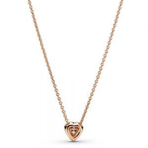 Pandora Rose Sparkling Heart Collier Necklace - 388425C01