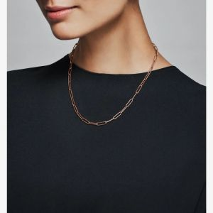 Pandora Rose Long Link Cable Chain Necklace - 388349