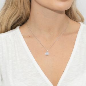 Sarah Alexander Sea Mist Single Stone Pendant