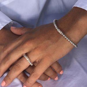 Annie Haak Seri Pearl Silver Ring