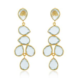 Shyla London Sheena Earrings - Soft Light Blue