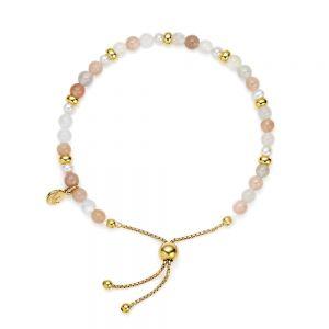 Jersey Pearl Sky Bracelet, Scatter Style in Moonstone