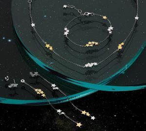 Kit Heath Stargazer Stellar Two Tone Necklace 90218GD029