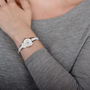Obaku Ladies 'Morgen' Rose Gold Slim Watch