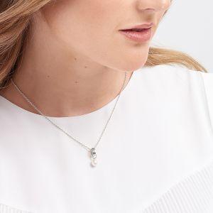 Jersey Pearl VIVA Pendant - Silver