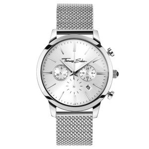 Thomas Sabo Rebel Spirit Men's Watch - Mesh Silver