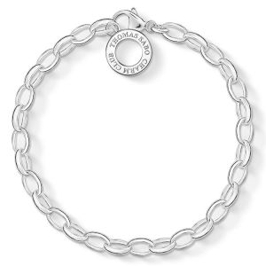 Thomas Sabo Classic Charm Bracelet, Silver X0031-001-12