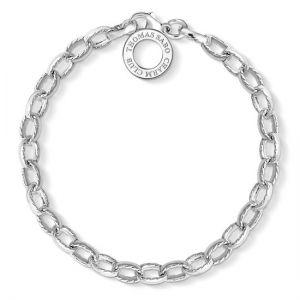 Thomas Sabo Charm Bracelet, Silver Textured Link