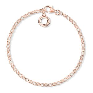 Thomas Sabo Charm Bracelet Classic Small - Rose Gold