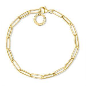 Thomas Sabo Charm Bracelet, Gold, Long Link
