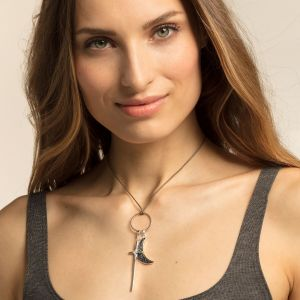 Thomas Sabo Charm Pendant - Abalone Mother-Of-Pearl Moon Y0007-509-7