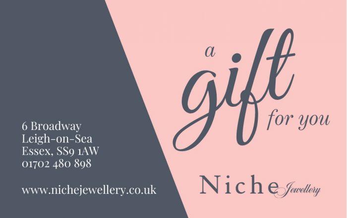 Niche Jewellery In Store Gift Voucher £75