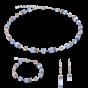 Coeur De Lion GeoCUBE Earrings - Light Blue 4016200720